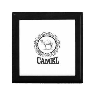 camel logo art gift box