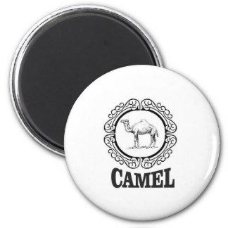 camel logo art magnet