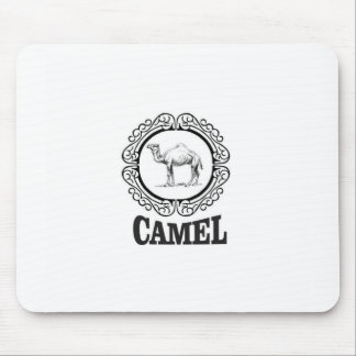 camel logo art mouse pad