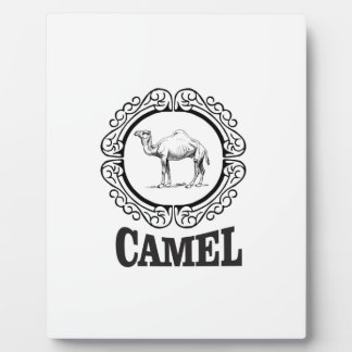 camel logo art plaque