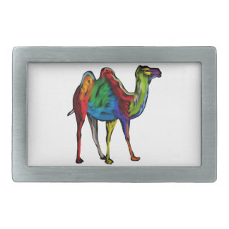 CAMEL OF COLORS BELT BUCKLES