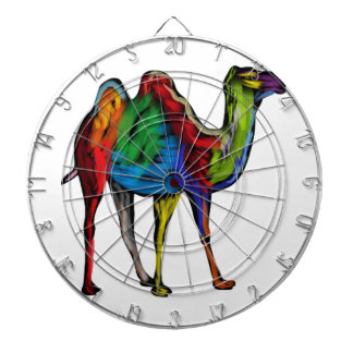 CAMEL OF COLORS DARTBOARD