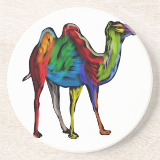 CAMEL OF COLORS DRINK COASTERS