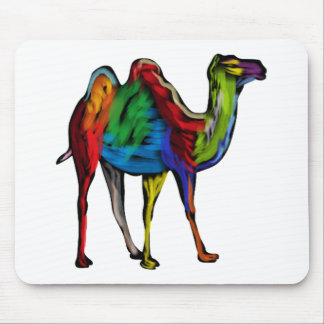 CAMEL OF COLORS MOUSE PAD