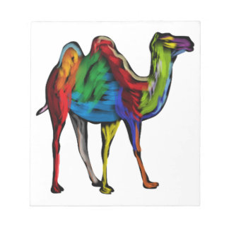 CAMEL OF COLORS NOTEPAD
