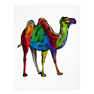 CAMEL OF COLORS PERSONALIZED LETTERHEAD