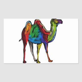 CAMEL OF COLORS STICKER