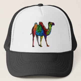 CAMEL OF COLORS TRUCKER HAT