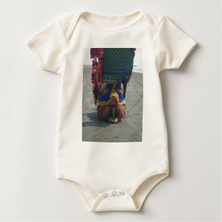 Camel on the toes.png baby bodysuit