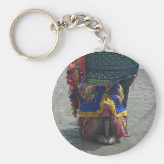 Camel on the toes.png basic round button keychain