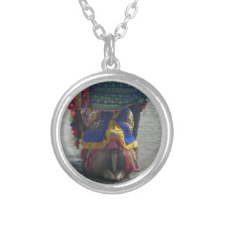Camel on the toes.png round pendant necklace