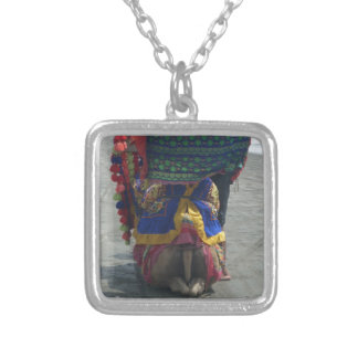 Camel on the toes.png silver plated necklace