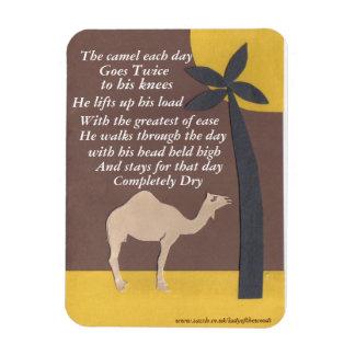 Camel poem magnet
