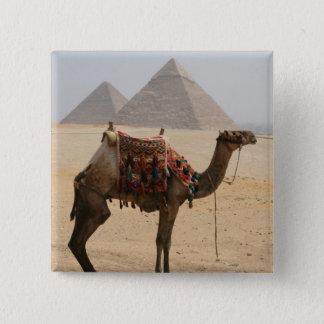 camel pyramids 2 inch square button
