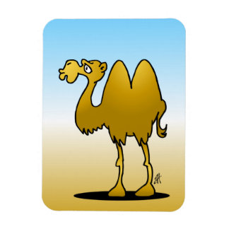 Camel Rectangular Photo Magnet