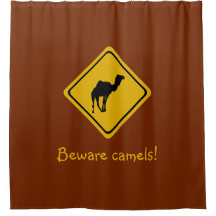Camel Shower Curtains
