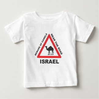 Camel Sign in Israel Baby T-Shirt