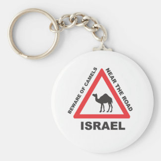 Camel Sign in Israel Keychain