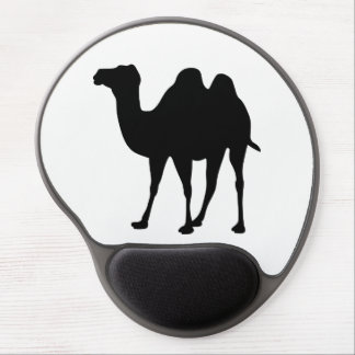Camel Silhouette Gel Mouse Pad