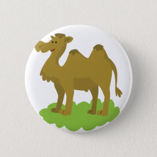 camel walking tall 2 inch round button
