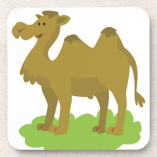 camel walking tall drink coaster