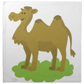 camel walking tall napkin