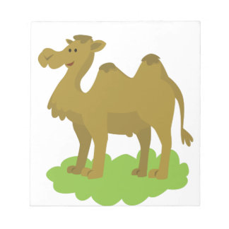 camel walking tall notepad