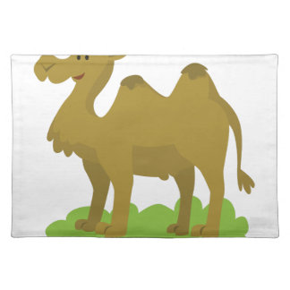 camel walking tall placemat