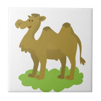 camel walking tall tile