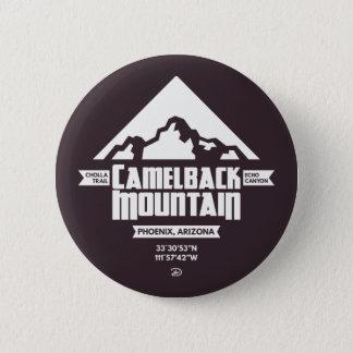Camelback Mountain (Dark) - Button