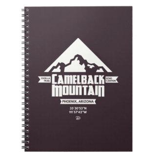 Camelback Mountain (Dark) - Notebook