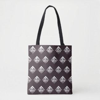 Camelback Mountain (Dark Pattern) - Tote Bag