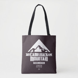 Camelback Mountain (Dark) - Tote Bag