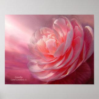 Camellia Art Poster/Print Poster