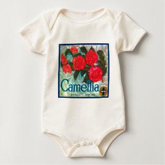 Camellia Baby Bodysuit