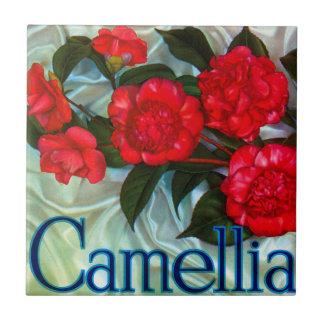 Camellia Brand Orange Label Tile