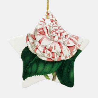 Camellia Ceramic Ornament