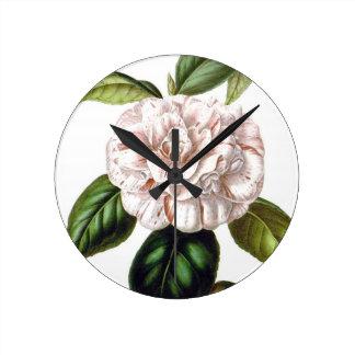 Camellia Flower Clock