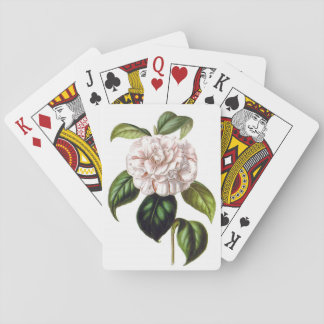 Camellia Flower Playing Cards