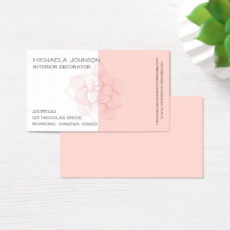 Camellia Pink Business Card