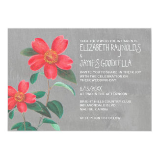 Camellia Wedding Invitations