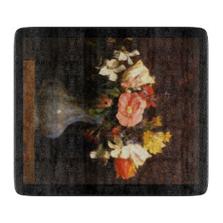 Camellias and Tulips Bar Chopping Board