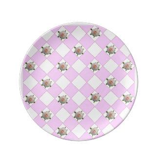 Camellias Plate