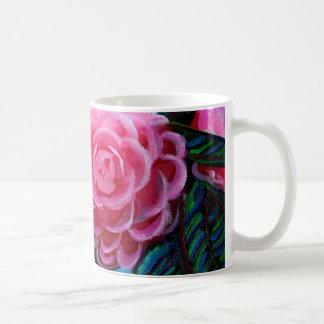 Camellias Up Close Coffee Mug