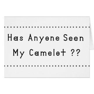 Camelot Card