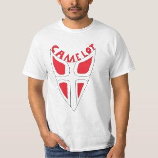 Camelot shield logo shirt