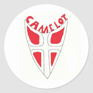 Camelot shield sticker