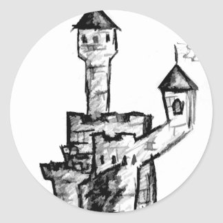 Camelot Classic Round Sticker