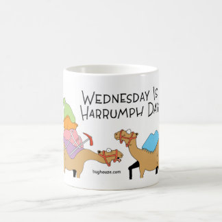 Camels and Wednesday hump dat Coffee Mug