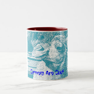 Camels Are Cool Two-Tone Coffee Mug